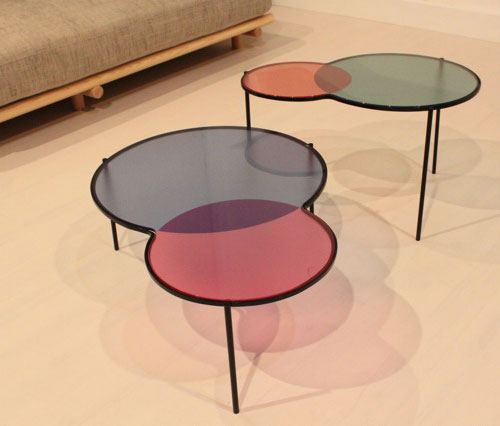 Coloured Coffee Table Gallery Design Ideas