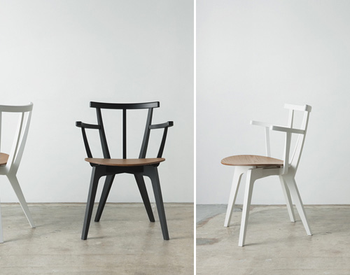Paper Wood Chairs By Drill Design From Japan Bloesem