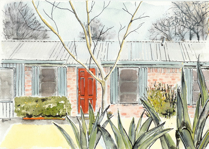 Watercolor-house