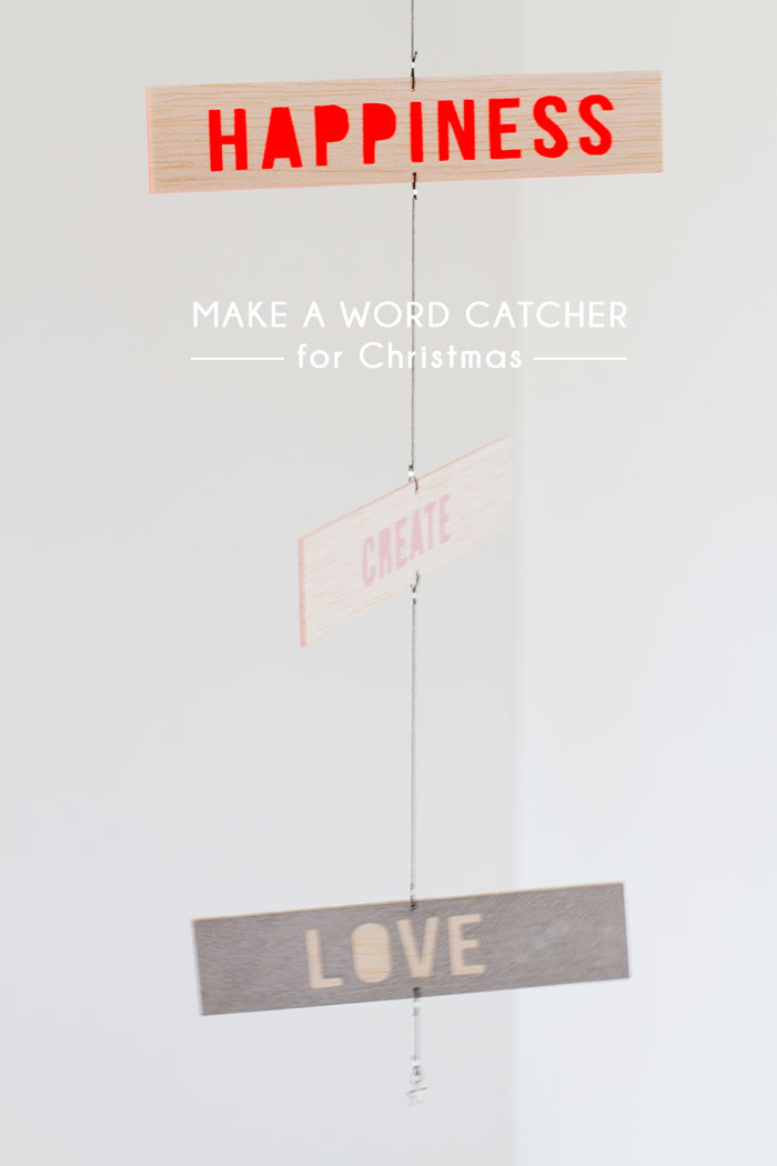 Bloesem Living | DIY WORD CATCHER