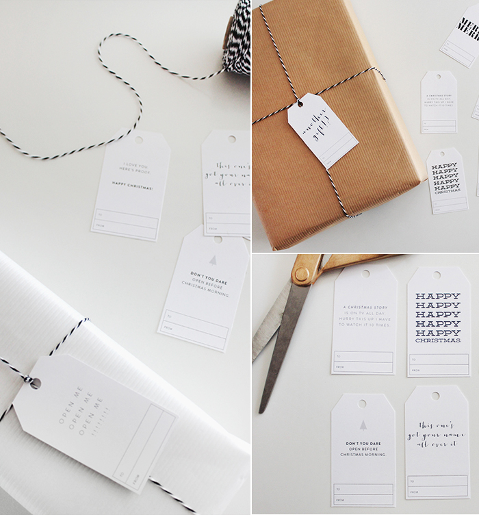 Bloesem Living | AlmostMakesPerfect free gift tags