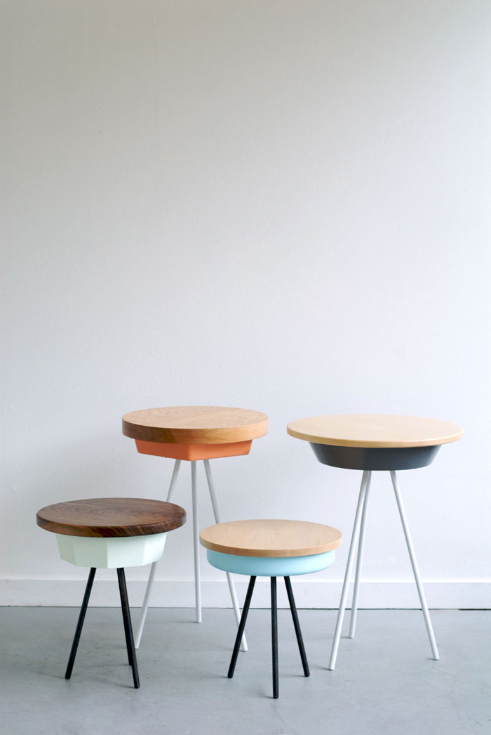 Bloesem Living | Mathew Philip Williams tripod tables