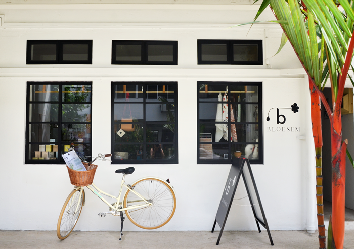 Bloesem Living | Papillionaire bicycles outside the Bloesem Creative Space
