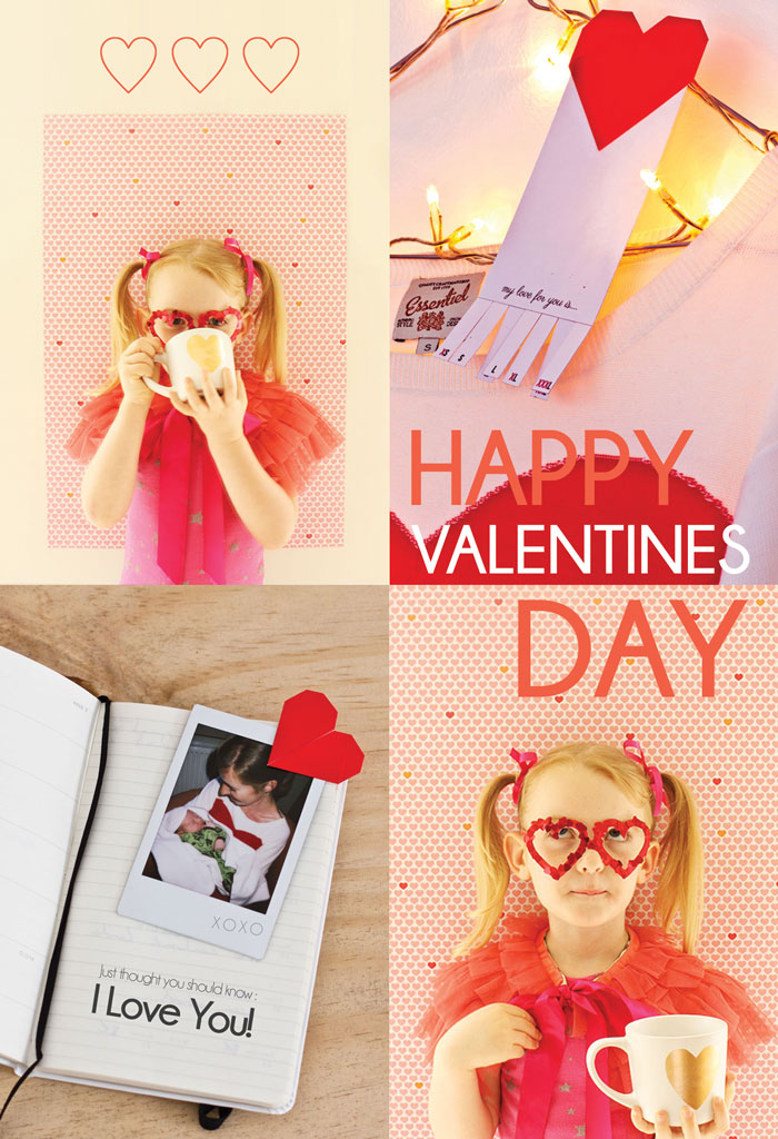Bloesem Living | Valentines craft projects DIY