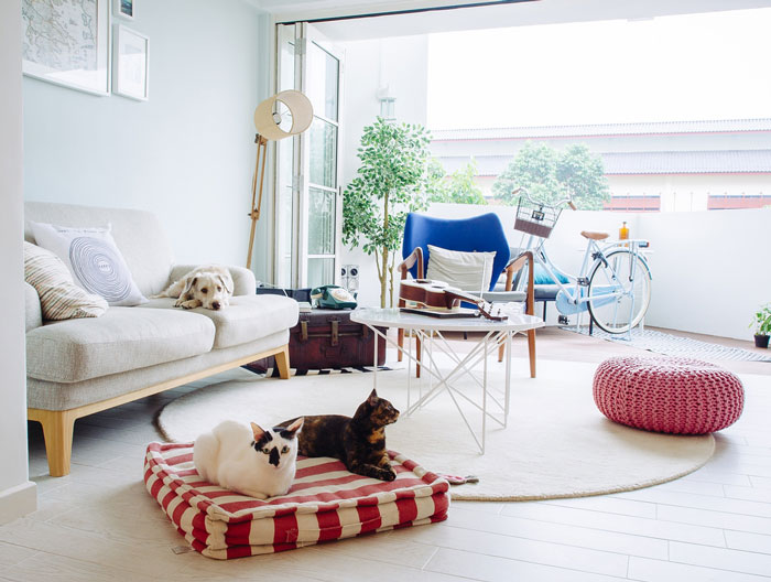 Bloesem Living | Home of Pet Lovers, Ann and James