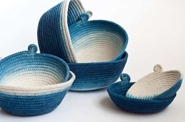 Bloesem Class ALERT   Rope Vessel Making Class with Gemma Patford: 4,5,6 & 7 June 2014 in Bloesem, Singapore