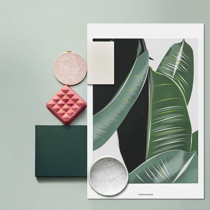 Bloesem Living | The Veggie Collection - posters from Vontrueba