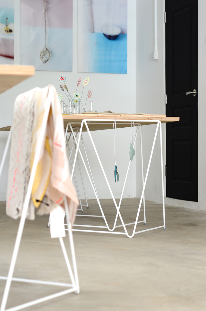 Bloesem Living | Master and Master trestles