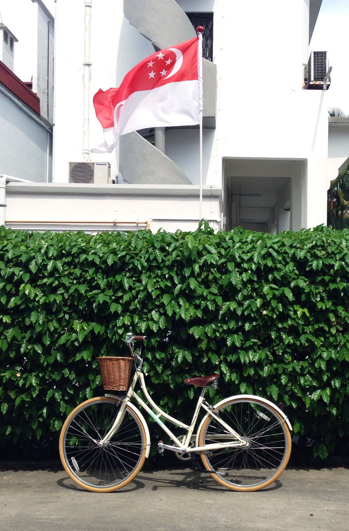 Bloesem Living   Happy National Day Singapore! We celebrate with red and white interior accents