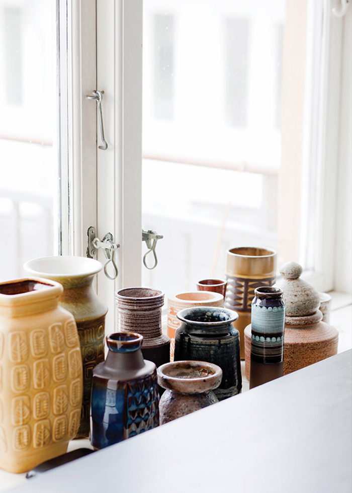 Bloesem Living | Link love: Kristina Dam accessorizes with Vintage Ceramics