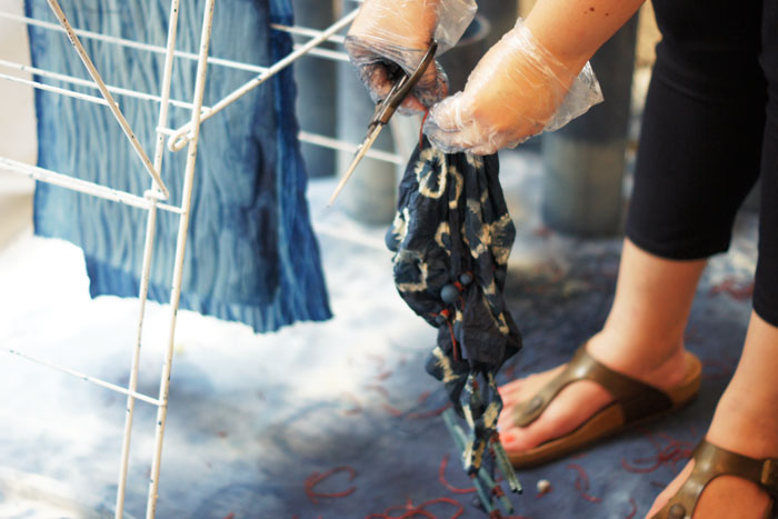 Bloesem Class Recap | Shibori Dyeing with Arounna of Bookhou