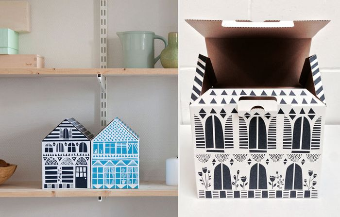 Bloesem living | Famille Summerbelle's perfect solution for all the little items we have lying around: House Boxes