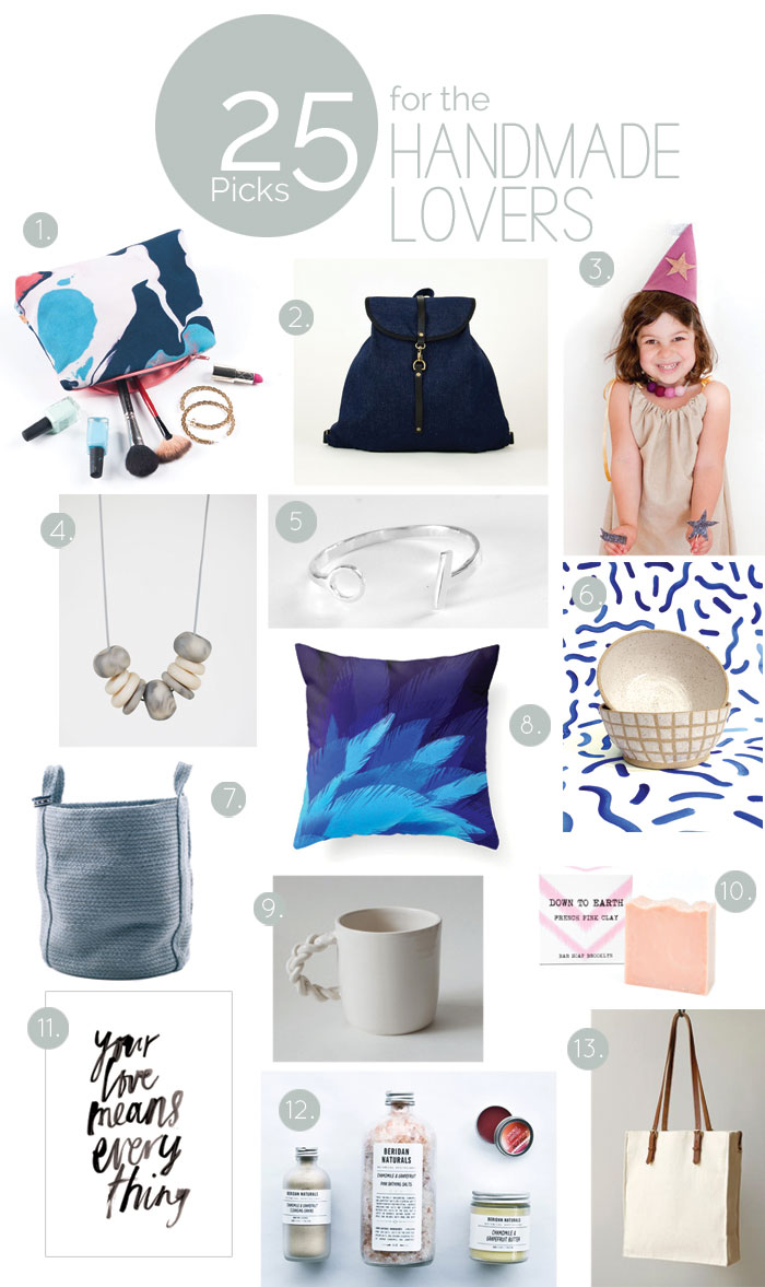 Bloesem Giving | Gift Guide: 25 handmade gifts