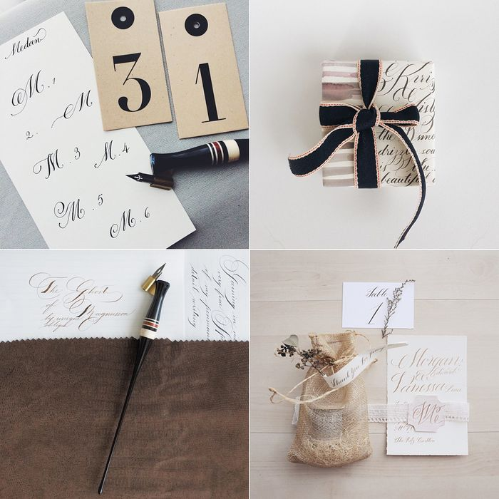 Bloesem Class Alert | Gold Foiling calligraphy for beginner - 5, 6, 7, 8 march 2015 Tiong Bahru Singapore