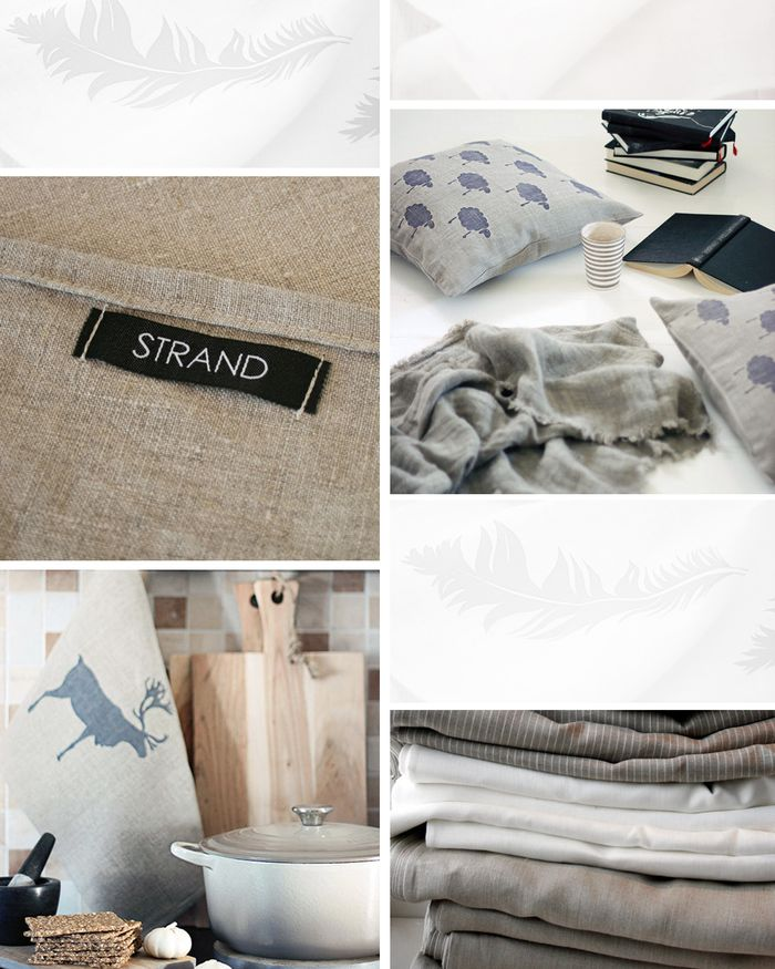 Bloesem living | Strand Design hand printed home accessories