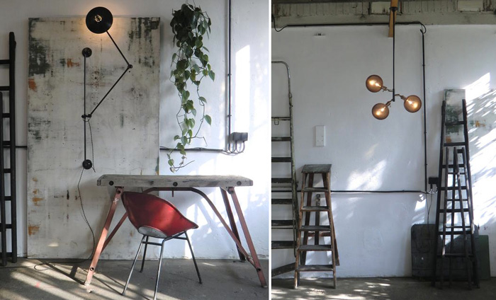 Bloesem living   Furniture: Contemporary lighting by Wo and We