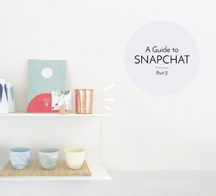 Bloesem Living | Snapchat Guide 2