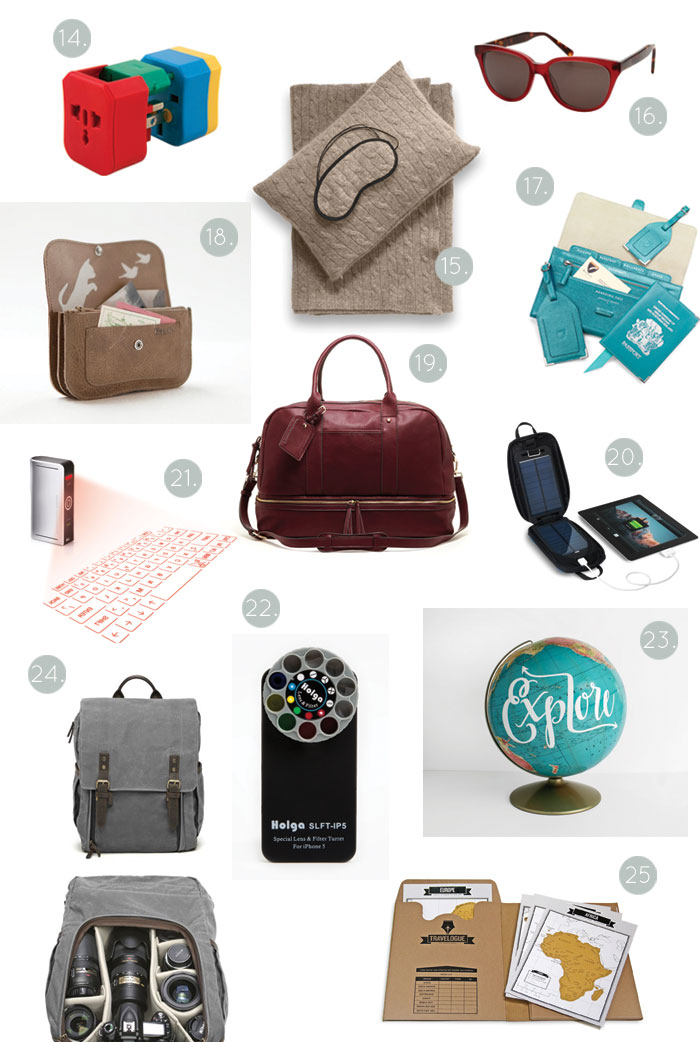 Bloesem giving |25 travel gifts for the holiday season