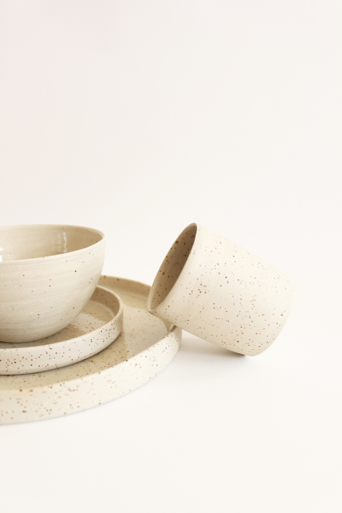 Bloesem Living | Ohmyhome dutch interior label - hand-rolled mottled clay ceramics