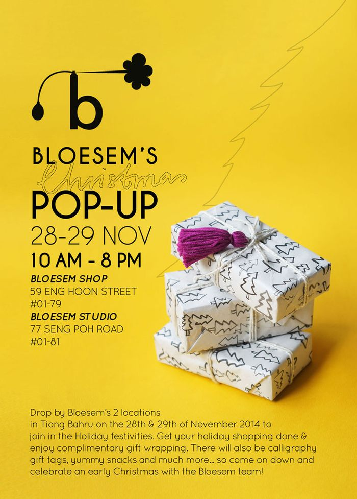 Bloesem living |Bloesem Christmas pop-up store on 28 and 29 November 2014