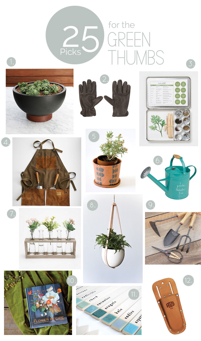 Bloesem giving | 25 great gifts for green thumbs