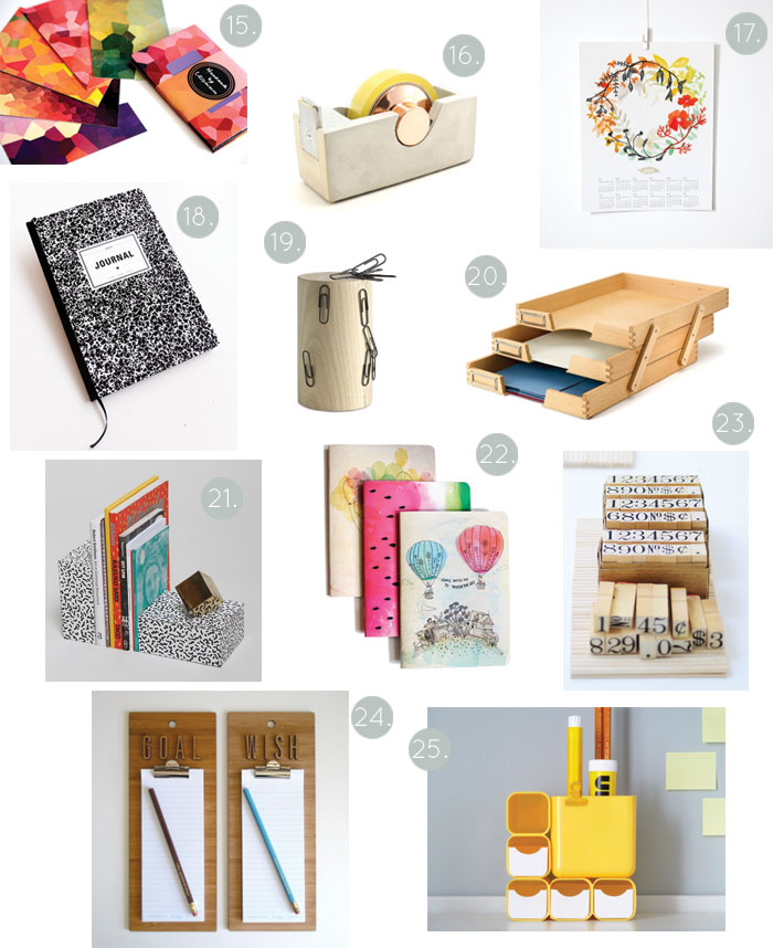 Bloesem giving   Gift guide for the stationery lovers