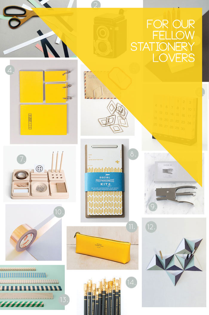 Bloesem Living   Gift Guide for Stationery lovers like us