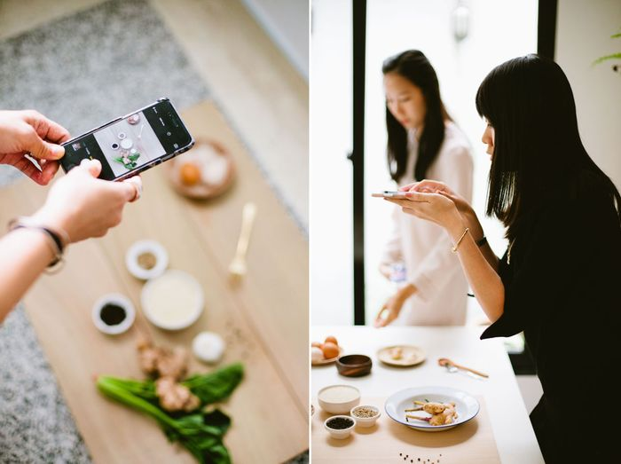 Bloesem living | Class recap: Instafood: Food Styling and mobile photography class with Bloesem and Trisha Toh. Join us for Instafood class in Amsterdam, March 2015. Sign up at Bloesem.co
