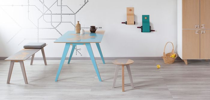 Bloesem living   Urbe furniture by Pasquale Alison
