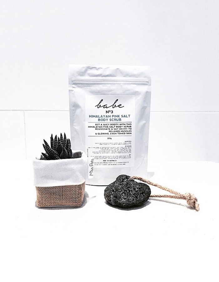 Bloesem shop - product of the day | Babescrub body scrubs