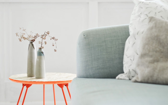 Bloesem living   Wallfloors furniture - photography and styling by Bloesem