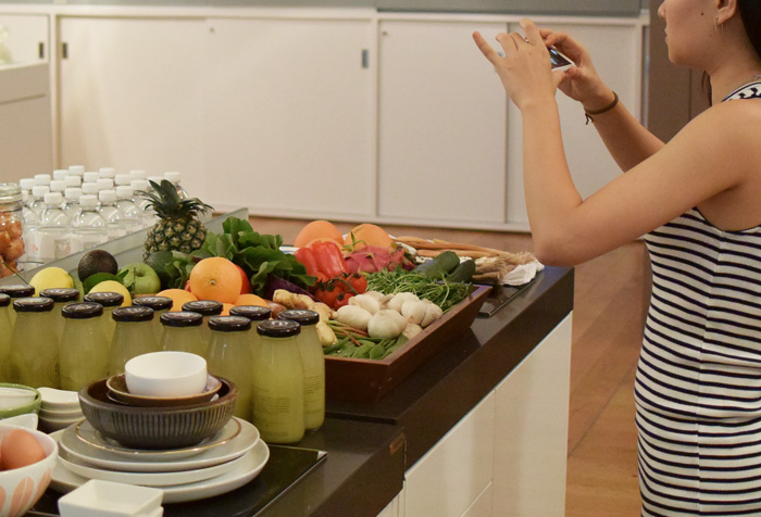 Bloesem living   Class recap: From Oven to table: Food styling and mobile photography class with Bosch