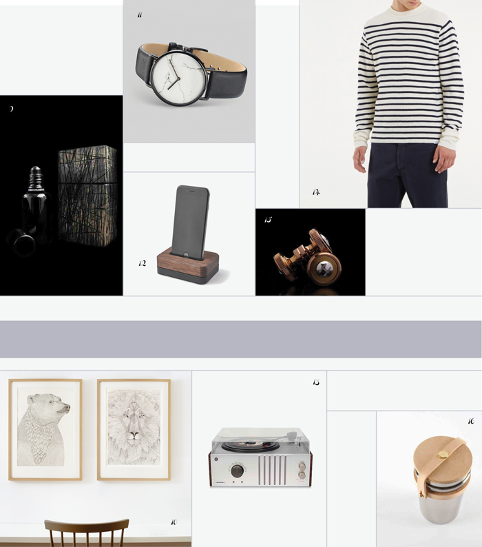 Bloesem living   Gifts guide 2015 Presents for Him