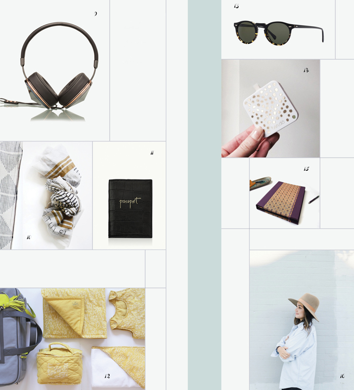 Bloesem gift guide: Travel gifts