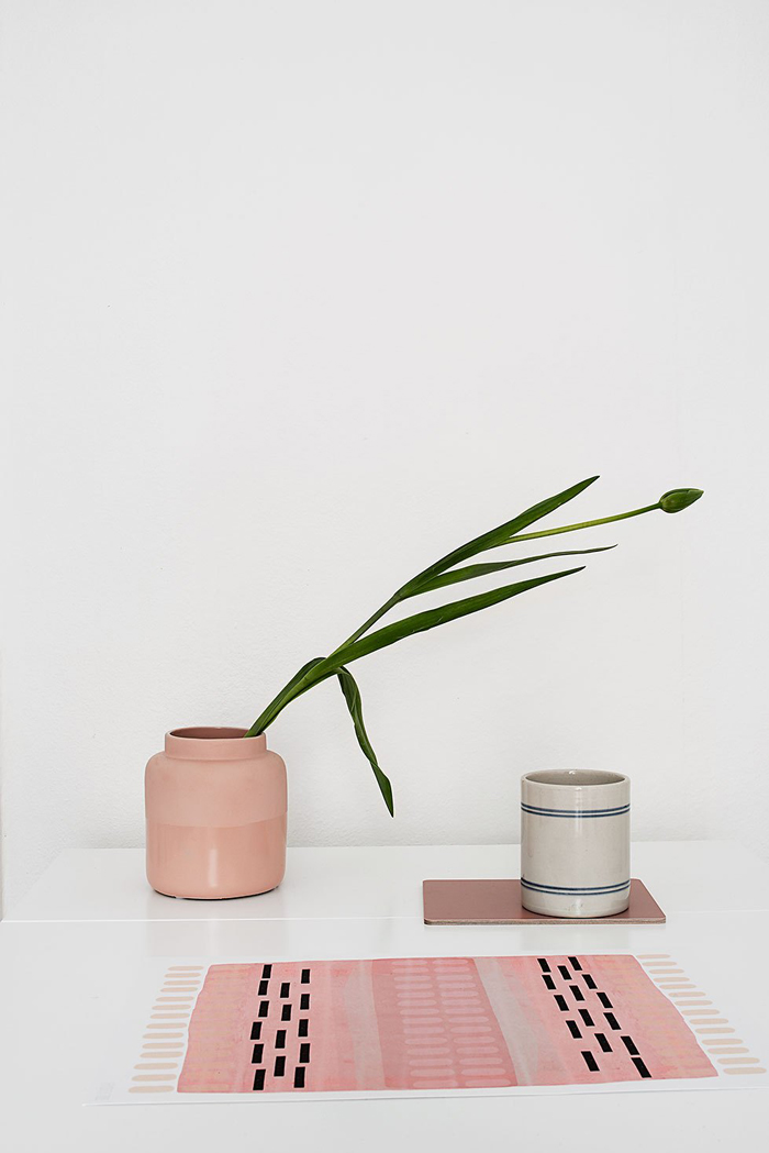 Bloesem Living | Rosy tones of a gorgeous studio