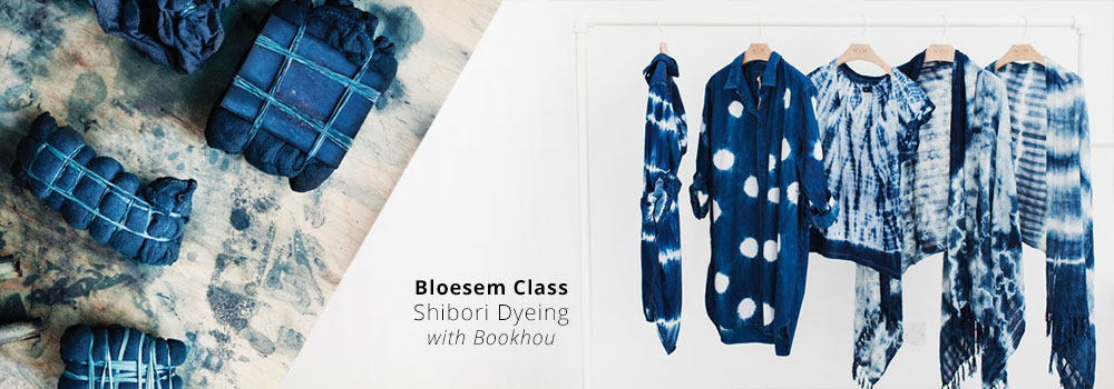 indigo shibori workshop