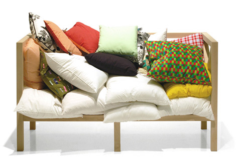 pillow crate - sofa - Bloesem
